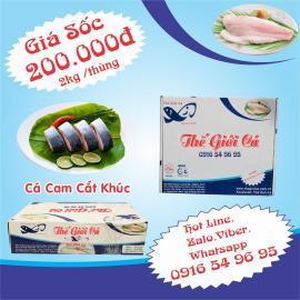 Cá Cam Cắt Khúc (2KG/THÙNG)