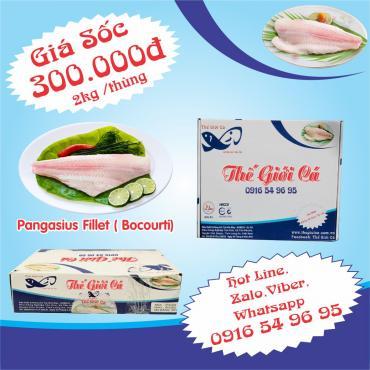 Basa Phi Lê (2KG/THÙNG)