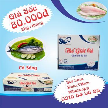 Cá Sòng (2KG/THÙNG)